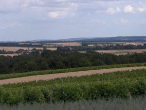 Vue d'Aubinges