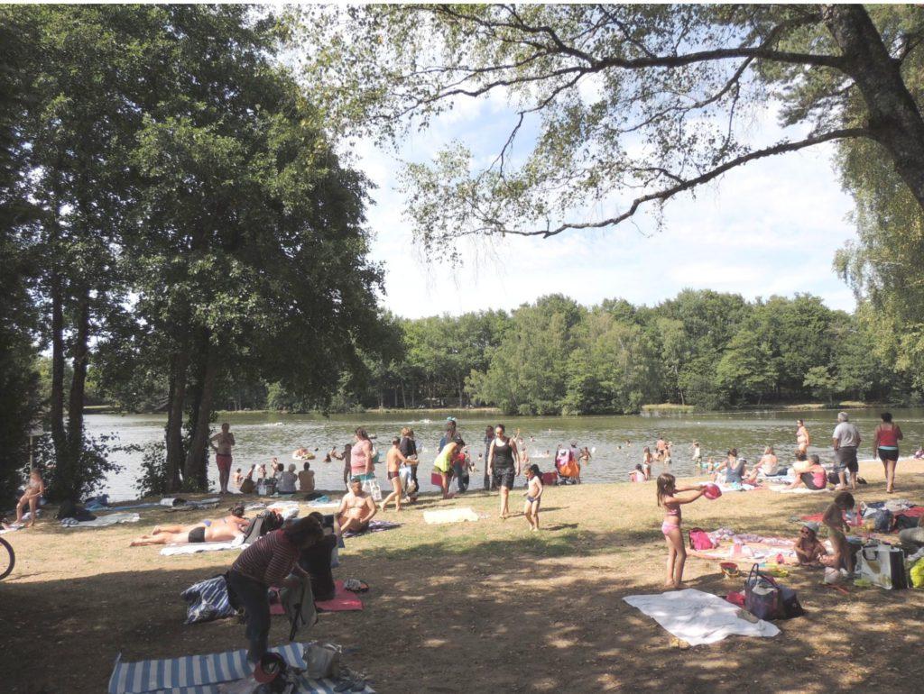 Baignade étang- Henrichemont