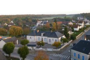 St Eloy le bourg vu d'en haut