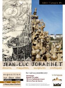 Jean-Luc Johannet Sculpteur « utopique » @ Site de la Tour de Vesvre | Neuvy-Deux-Clochers | Centre-Val de Loire | France