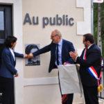INAUGURATION DE LA MAISON DE SERVICES AU PUBLIC  IMPLANTÉE À SAINT-MARTIN-D'AUXIGNY