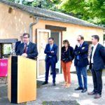 Inauguration du bureau d'information touristique La Borne