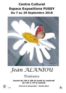 Exposition de Jean ALANIOU @ Centre Culturel de Fussy