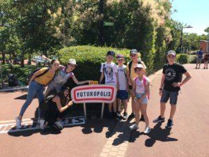 Menetou-Les jeunes au futuroscope
